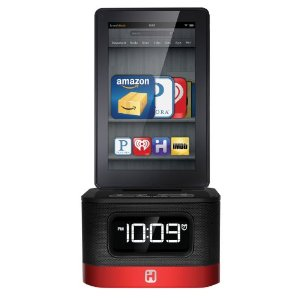 Kindle Fire Alarm Clock Dock, Kindle Fire HD with Free Time Coming