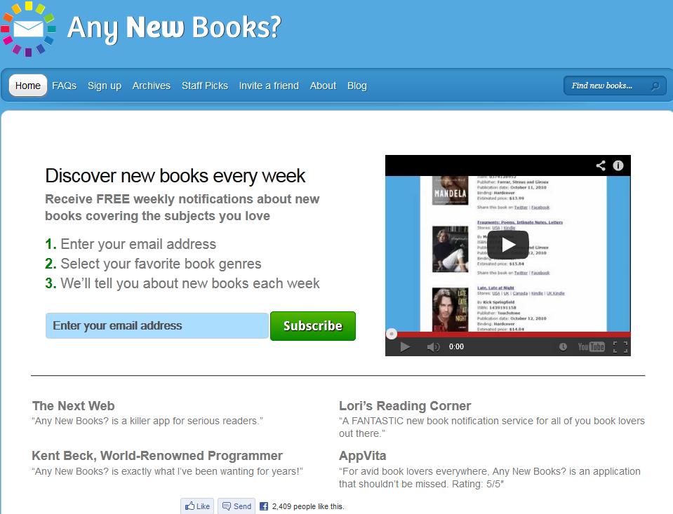 any new books